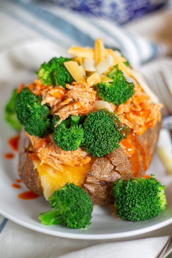 Buffalo Chicken Loaded Baked Potato Recipe