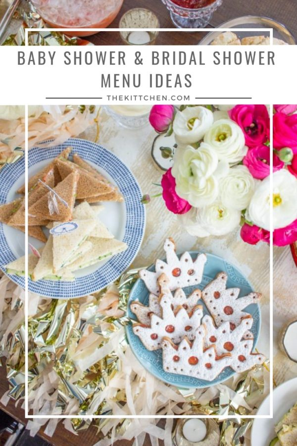 Baby Shower Menu Ideas Bridal Shower Menu Ideas Thekittchen