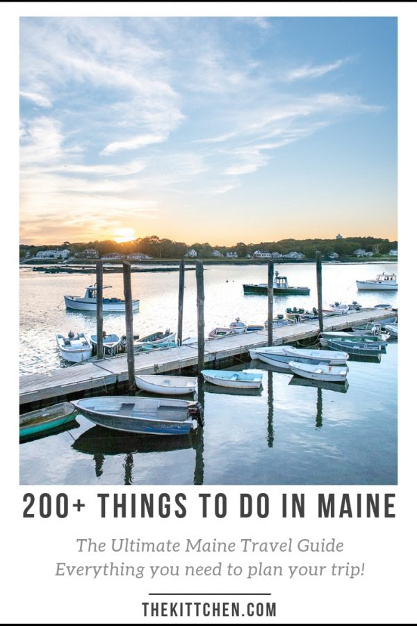 200+ Things to do in Maine | This is a complete guide to help you decide where to go and what to do in Maine.