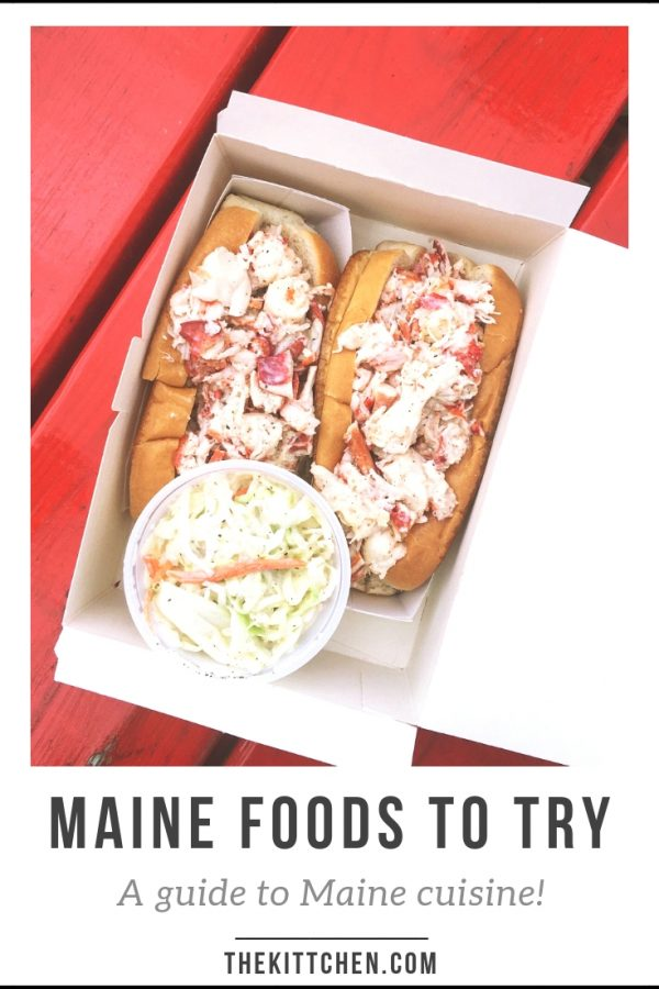 A guide to the Maine Foods that you need to try! This list includes foods that are native to Maine and foods that are hard to find anywhere else. Some of these foods are regional and popular throughout Northern New England.