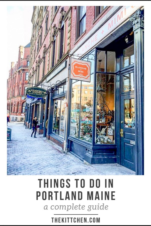 Things to do in Portland, Maine | A complete guide with lists of tours, lighthouses, landmarks, parks, shops, music and theater, breweries, restaurants, bars, museums, and annual events.