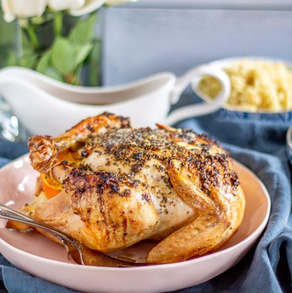 Citrus Roast Chicken 5 1