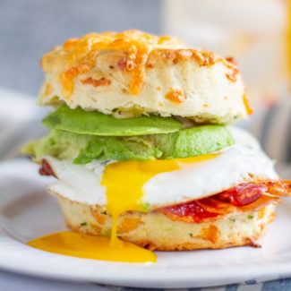 Best Breakfast Sandwich | Biscuit and Egg Sandwich