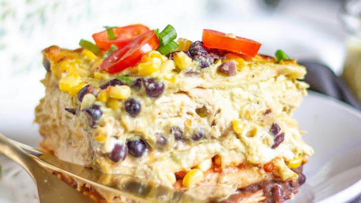 Chicken Mexican Lasagna