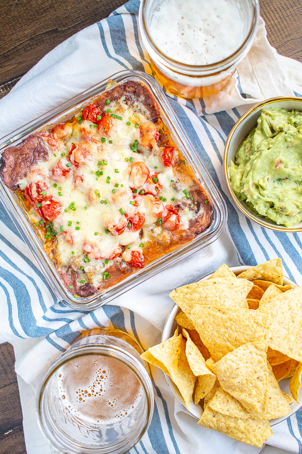 Baked Taco Dip A Hot Taco Dip With Ground Beef