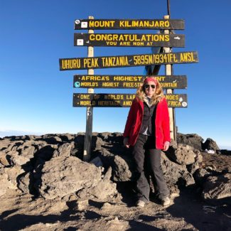 Hello from Mount Kilimanjaro
