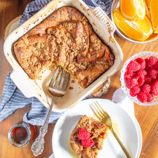Overnight Baked French Toast
