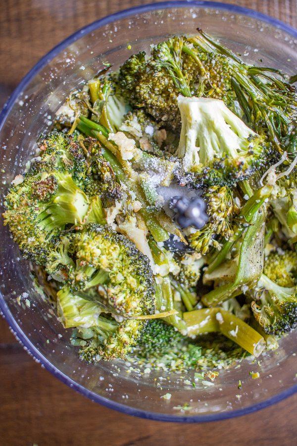Roasted Broccoli Pesto 5