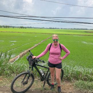Ho Chi Minh and Biking Through the Mekong River Delta