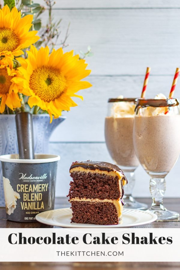 How to make a Chocolate Cake Shake | An indulgent dessert that combines cake and ice cream