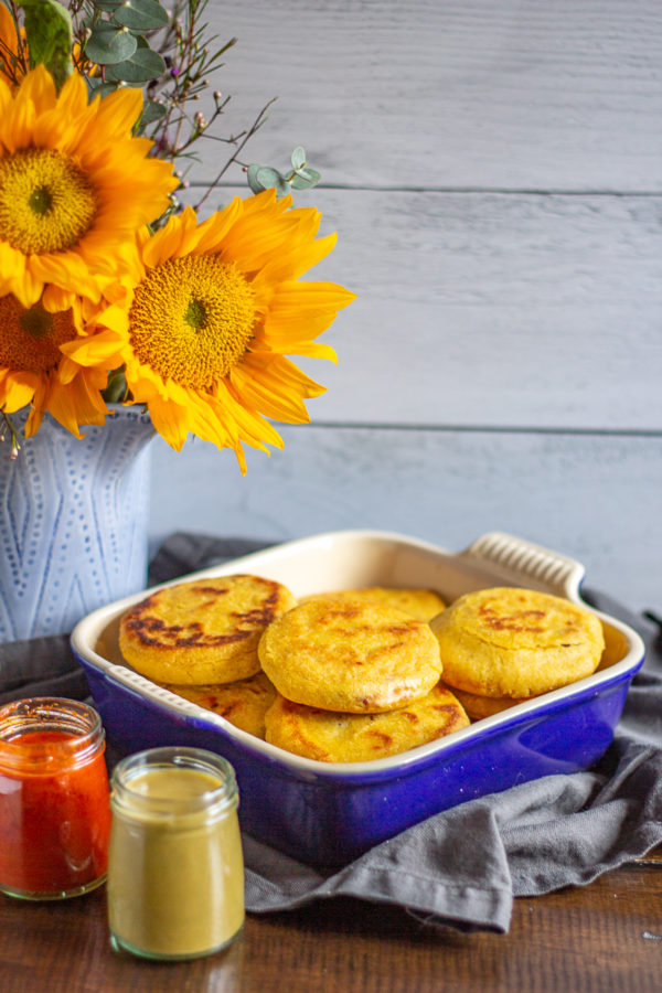 Easy Pupusa Recipe | These Salvadorian masa flatbread filled with beans and cheese are popular in New Mexico