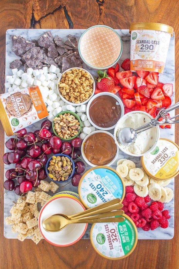 Ice Cream Dessert Board 12