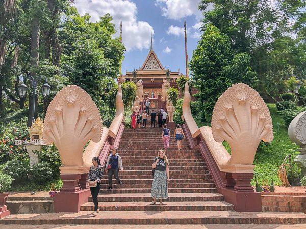What to do in Phnom Penh Wat Phnom