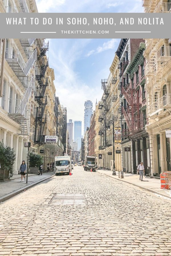 A guide of what to do in Soho, Noho and Nolita, three smaller neighborhoods in Manhattan filled with trendy restaurants and stores. If you like shopping and eating, you can easily spend an entire weekend here.
