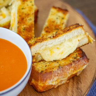 Giant Grilled Cheese Appetizer