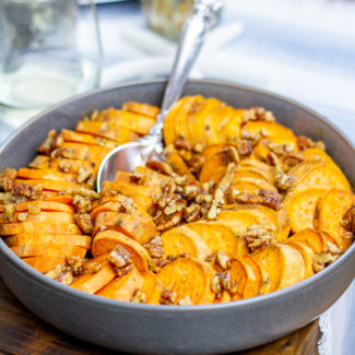 Maple Pecan Sweet Potatoes