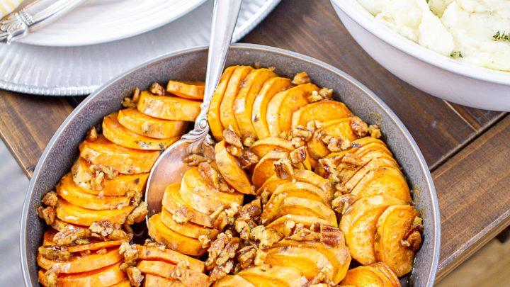 Maple Pecan Sweet Potatoes