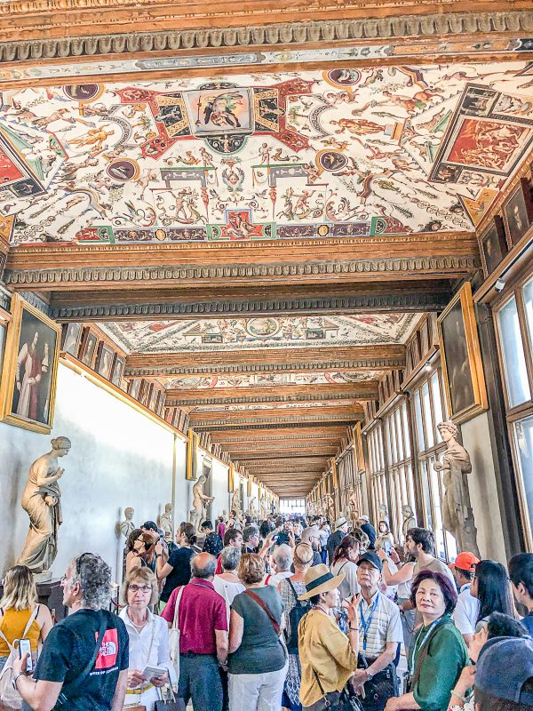Things to do in Florence Uffizi