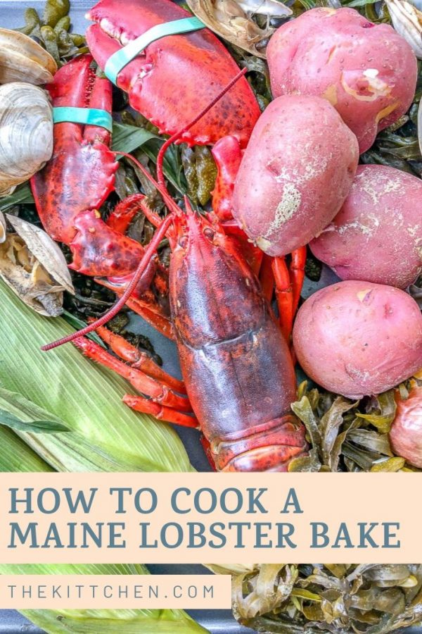Learn how to cook a traditional Maine Lobster Bake - this is the ultimate way to prepare lobster!