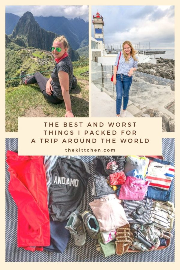 Per request, today I am sharing the best and worst things that I packed for my 101-day trip around the world. Some things held up to being worn again and again, and some things got replaced mid-trip.
