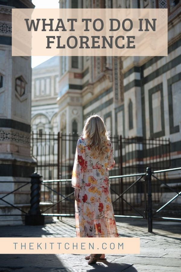 My guide of things to do in Florence has all the major sites, and some off the beaten path gems.