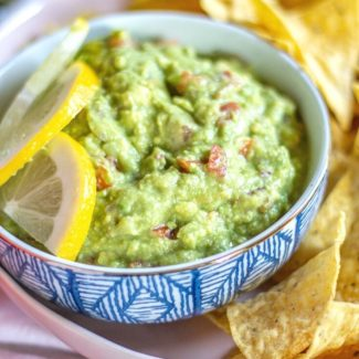 Easy Guacamole without Cilantro