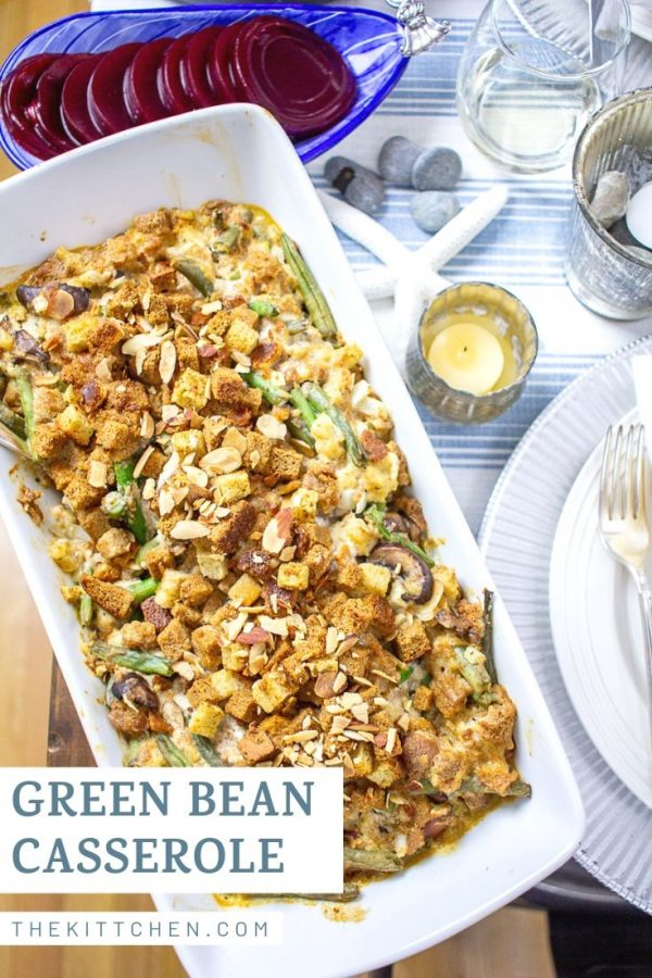 How to Make Green Bean Casserole | This green bean casserole is a classic Thanksgiving side dish.