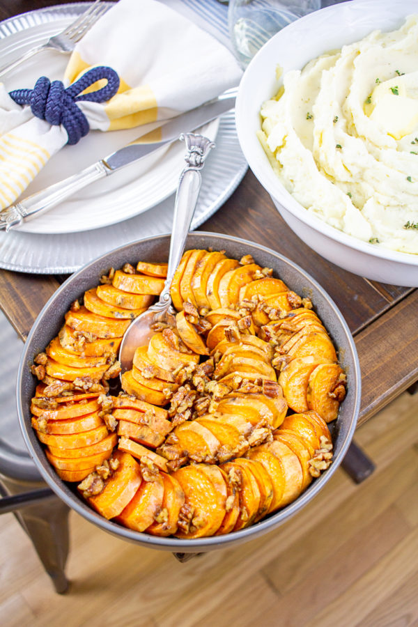 Maple Pecan Sweet Potatoes 5
