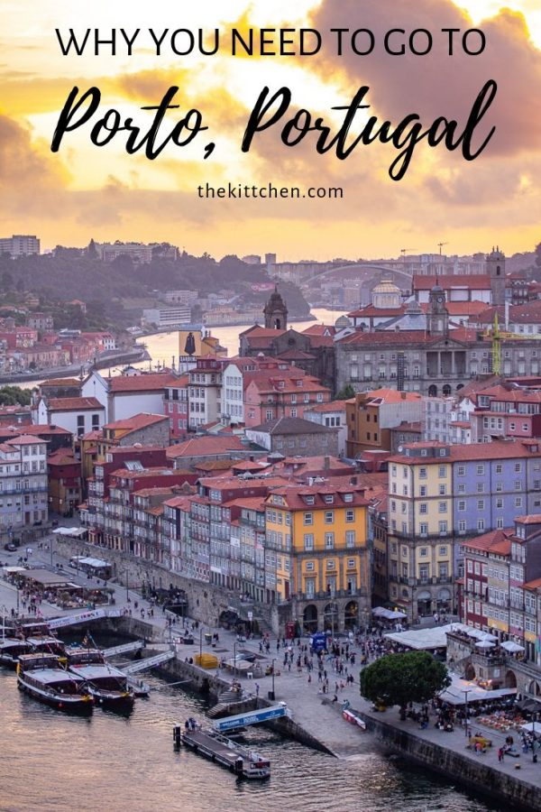 What to do in Porto Portugal | Porto is your quintessential small European city. It has colorful buildings, narrow streets lined with cafés, castles, churches, and charm.