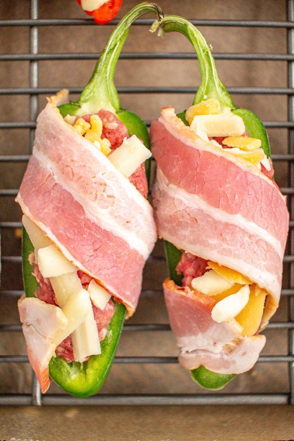 Bacon Cheeseburger Stuffed Peppers 3