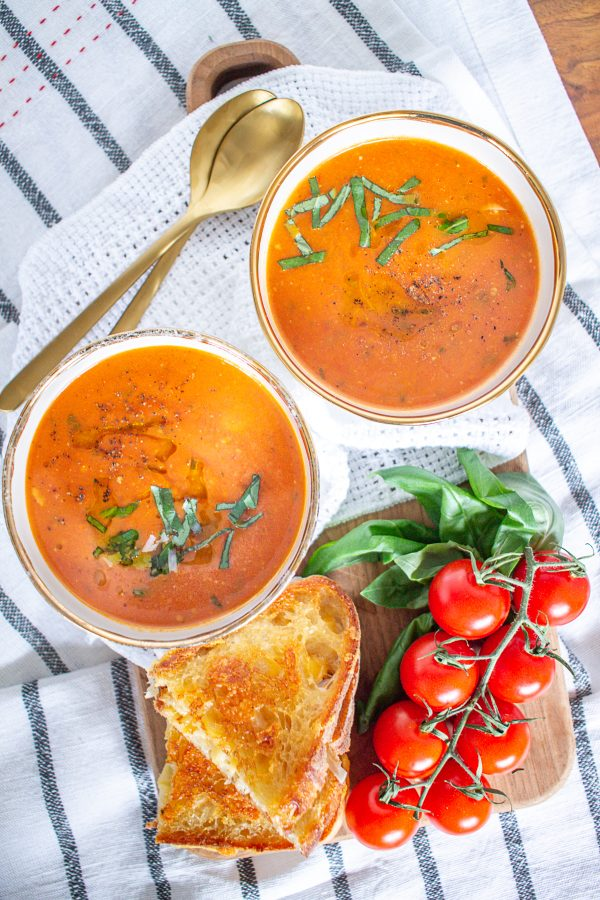 Herb Roasted Tomato Soup 7
