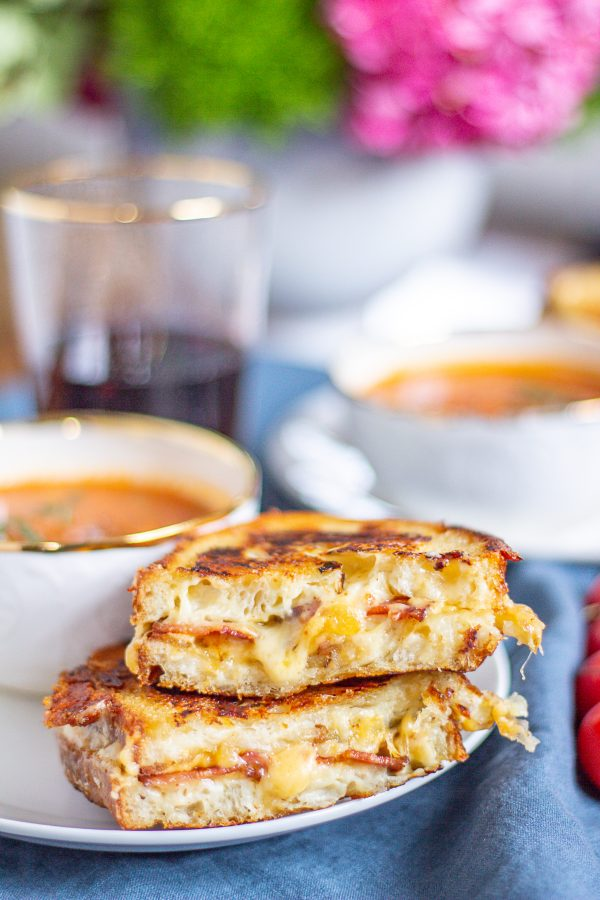 Loaded Baked Potato Grilled Cheese 2