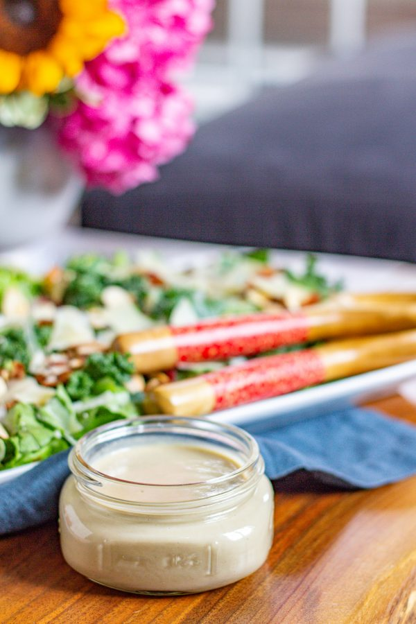 Maple Tahini Salad Dressing 6