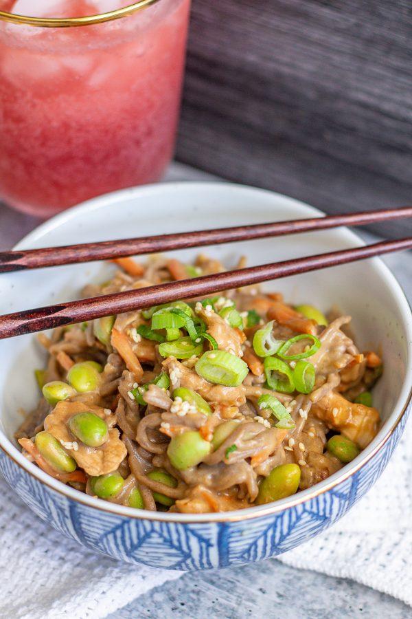 Sesame Peanut Noodles 2