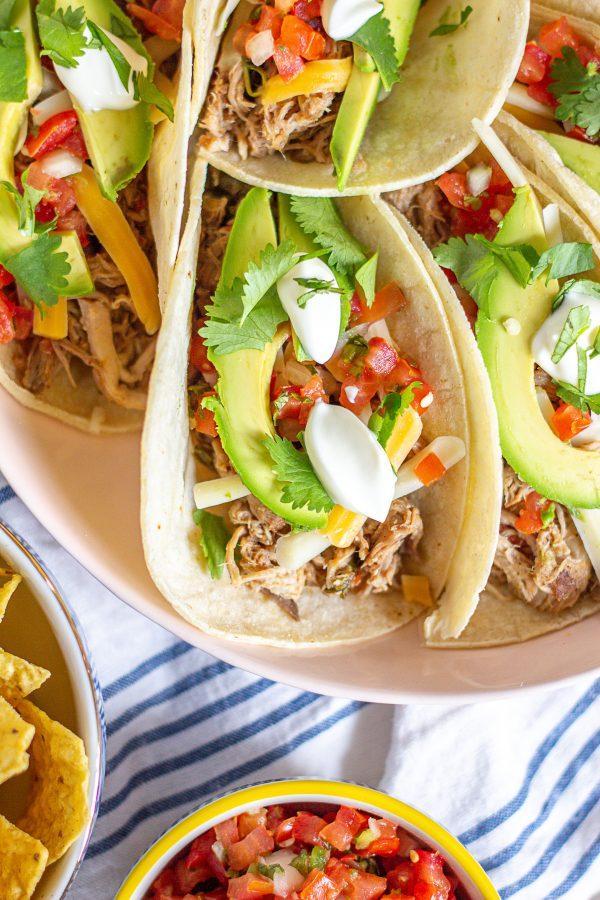 Slow Cooker Pulled Pork Tacos 2