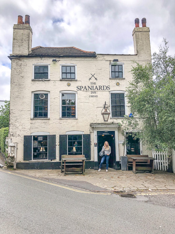What to do in Hampstead The Spaniards Inn