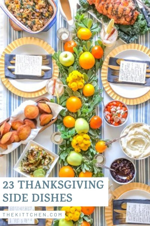 This collection of Thanksgiving side dishes is filled with inspirations and recipes to help you plan out your Thanksgiving menu. Whether you want a classic recipe or something more modern, this list has a little of everything.