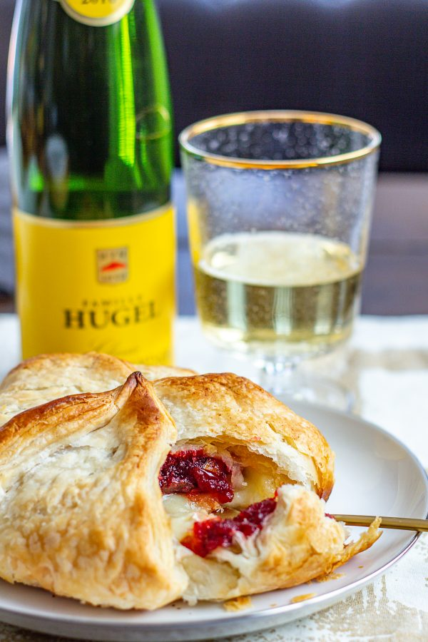 Baked Brie with Cranberry Chutney 5