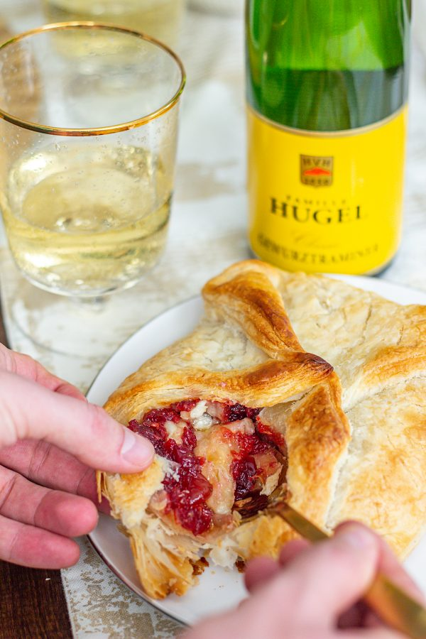 Baked Brie with Cranberry Chutney 8