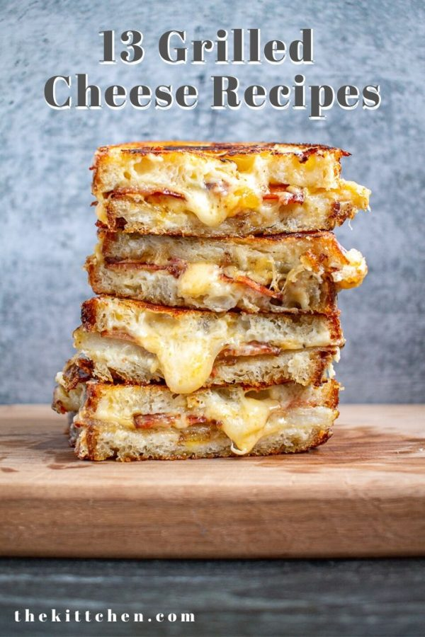 13 Creative Grilled Cheese Recipes | These recipes reinvent the classic comfort food. Find recipes for baked potato grilled cheese, enchiladas grilled cheese and more!