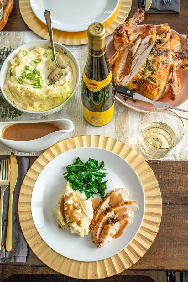 Lemon Rosemary and Oregano Roast Chicken 10