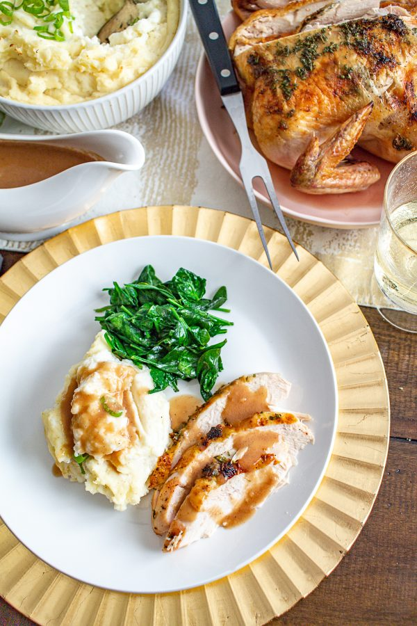 Lemon Rosemary and Oregano Roast Chicken 11