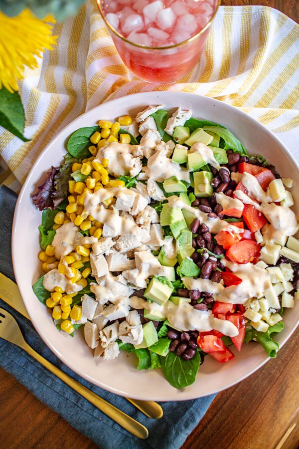 Southwest Chicken Salad 7