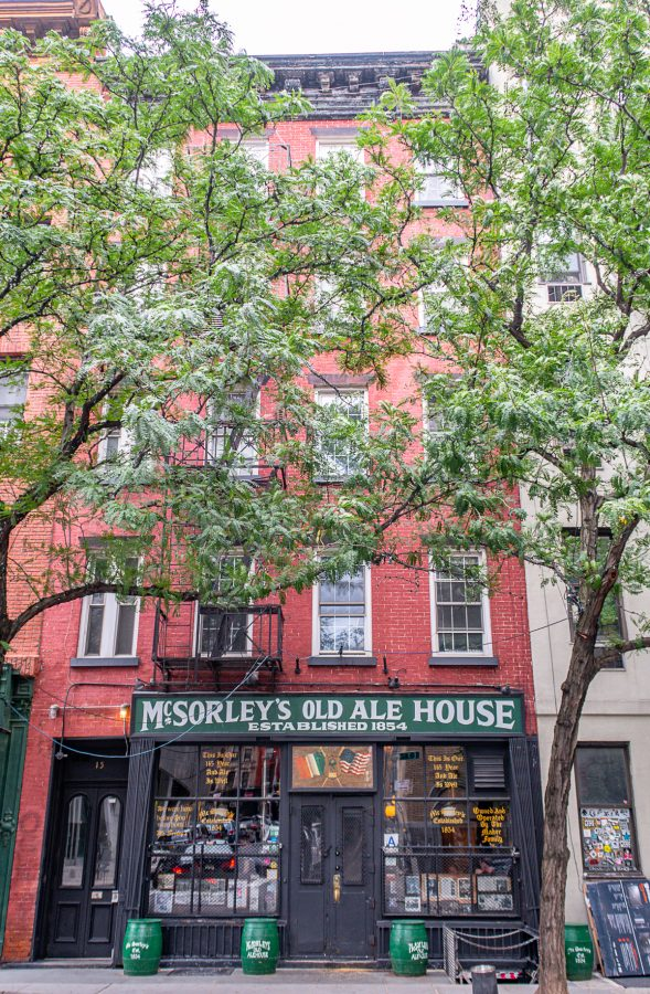 What to do in the East Village McSorleys Ale House