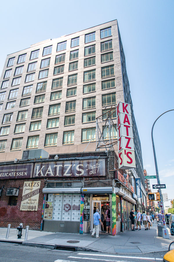 What to do in the Lower East Side Katzs Deli