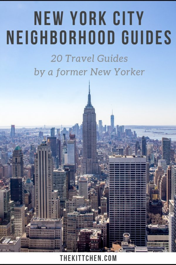 NYC Neighborhood Guides | A collection of 20 New York City travel guides that have all the info you need to plan a trip!
