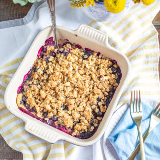Blueberry Crumble