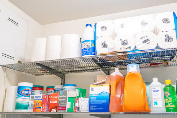 Here are my suggestions for a Coronavirus shopping list. The list includes basic medication and cleaning supplies, plus groceries and meal prep ideas.