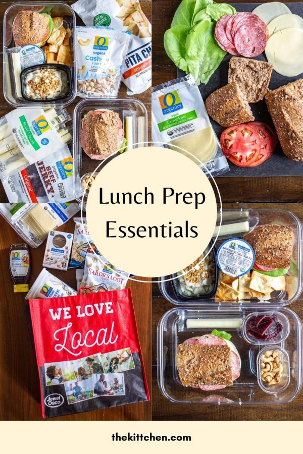 #ad Learn how I use #OOrganics products from #JewelOsco to meal prep our lunches to make working from home with a newborn a lot easier!