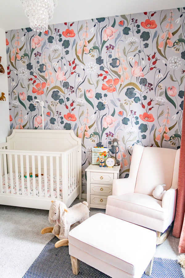 Installing Peel and Stick Wallpaper
